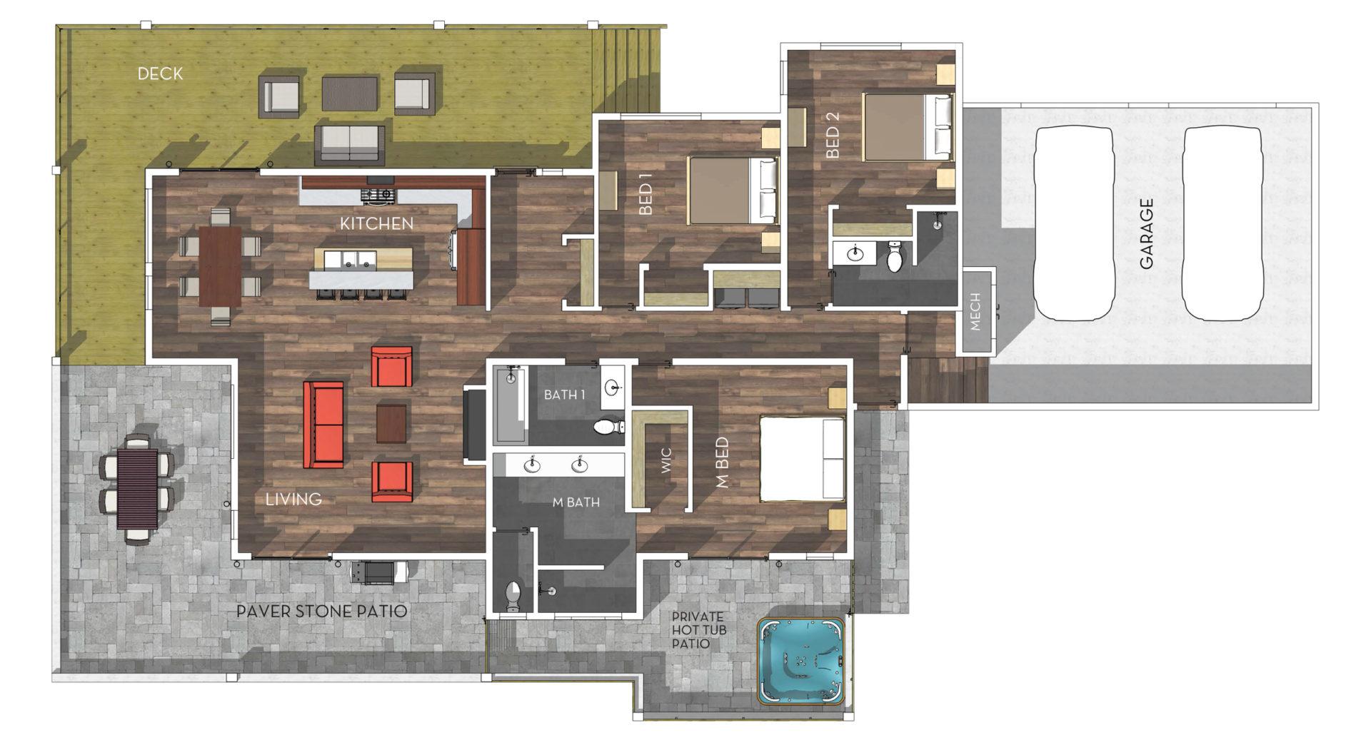 1369 Great Spirit Floorplan