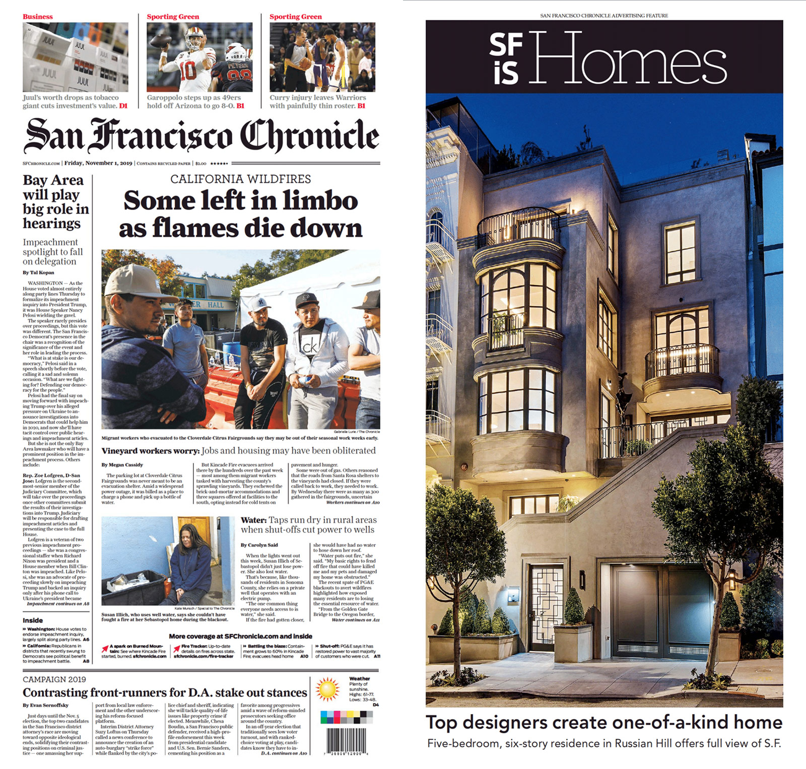 Sf Chronicle 11 1 19