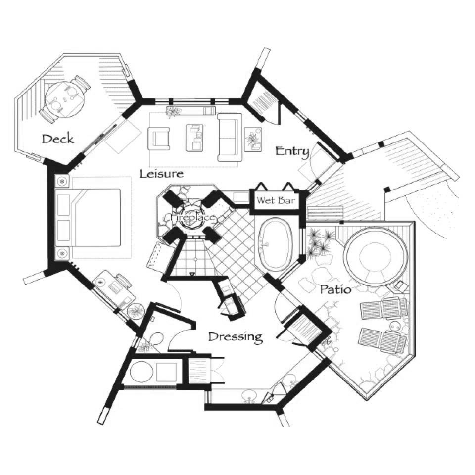 Nakoma Residence Club Studio Floor Plan
